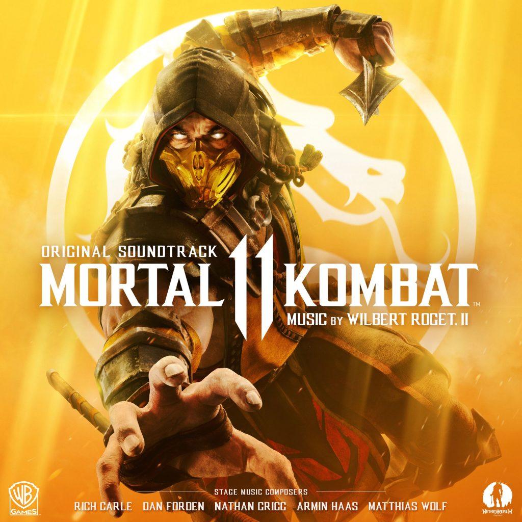 bande originale de mortal kombat 11 front cover