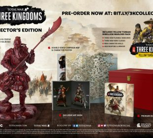 total war three kingdoms edition collector