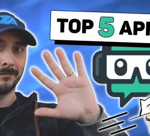 top 5 des meilleurs applications pour streamlabs obs