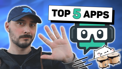 top 5 des meilleurs applications pour streamlabs obs