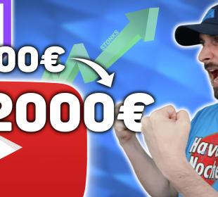 gagner de l'argent avec twitch et youtube