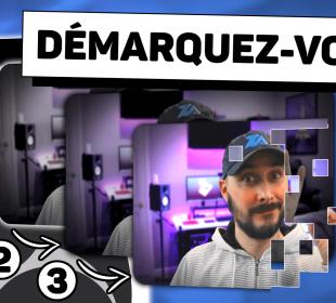 obs effets avancés webcam coins arrondis ombre transition