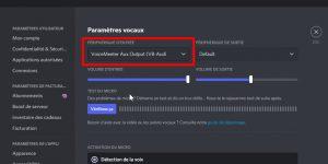 voicemeeter aux output sur discord