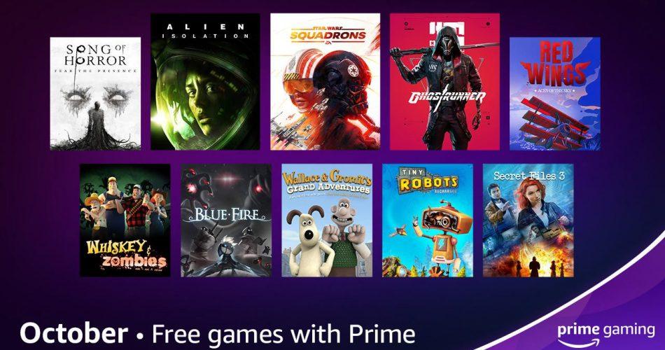 contenu offert prime gaming octobre 2021